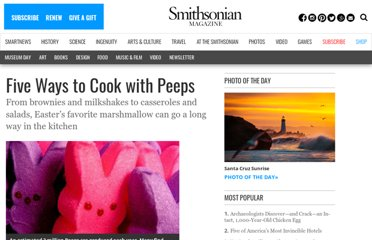 http://blogs.smithsonianmag.com/food/2013/03/five-ways-to-cook-with-peeps/