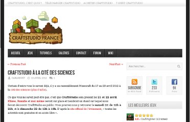 http://www.craftstudio.fr/2012/04/craftstudio-a-la-cite-des-sciences/