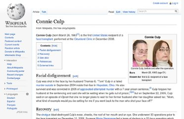 http://en.wikipedia.org/wiki/Connie_Culp