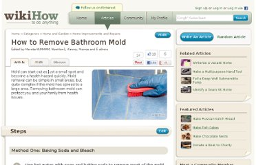 http://www.wikihow.com/Remove-Bathroom-Mold