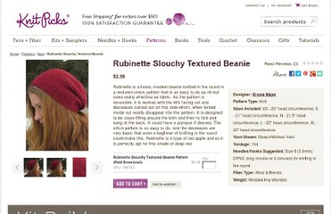 http://www.knitpicks.com/patterns/view-all-patterns/rubinette-slouchy-textured-beanie.html