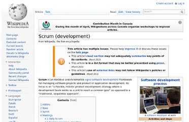 http://en.wikipedia.org/wiki/Scrum_(development)