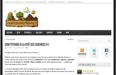 http://www.craftstudio.fr/2012/04/craftstudio-a-la-cite-des-sciences-1/