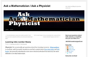 http://www.askamathematician.com/2013/02/learning-intro-number-theory/