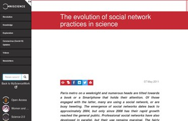 http://www.mysciencework.com/en/MyScienceNews/1835/the-evolution-of-social-network-practices-in-science