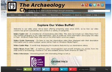 http://www.archaeologychannel.org/video-guide
