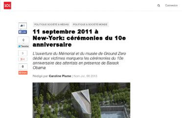 http://suite101.fr/article/11-septembre-2011-a-new-york-ceremonies-du-10e-anniversaire-a30449#axzz2OxoPvs89