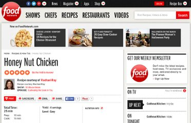 http://www.foodnetwork.com/recipes/rachael-ray/honey-nut-chicken-recipe/index.html