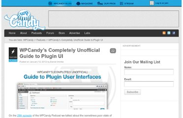 http://wpcandy.com/presents/wordpress-plugin-user-interface-guide/#.UVcgltF-P0M