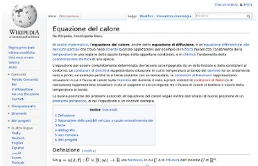 http://it.wikipedia.org/wiki/Equazione_del_calore