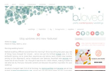 http://www.blovedweddings.com/blog-updates-and-new-features
