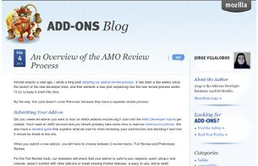 https://blog.mozilla.org/addons/2011/02/04/overview-amo-review-process/