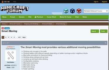 http://www.minecraftforum.net/topic/361430-151smp-smart-moving/