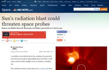 http://www.nbcnews.com/id/46628956/ns/technology_and_science-space/t/suns-radiation-blast-could-threaten-space-probes/