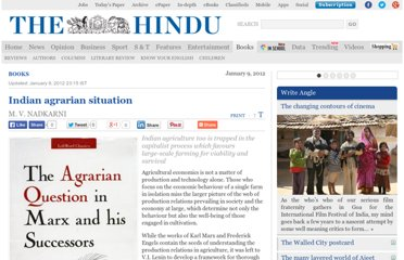 http://www.thehindu.com/books/indian-agrarian-situation/article2788464.ece