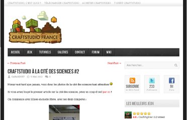 http://www.craftstudio.fr/2012/05/craftstudio-a-la-cite-des-sciences-2/