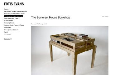http://cargocollective.com/fotisevans/The-Somerset-House-Bookshop