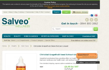 http://www.salveo.co.uk/citricidal-grapefruit-seed-extract.html