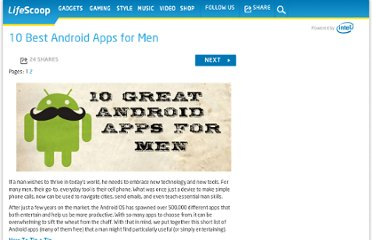 http://mylifescoop.com/2011/11/14/10-best-android-apps-for-men/