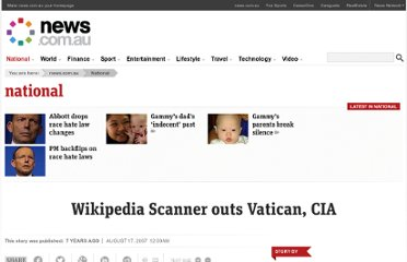 http://www.news.com.au/breaking-news/cia-accused-of-editing-wikipedia/story-e6frfkp9-1111114204126