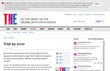 http://www.timeshighereducation.co.uk/413129.article