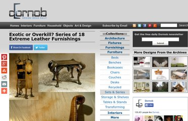 http://dornob.com/exotic-or-overkill-series-of-18-extreme-leather-furnishings/#axzz2P2yjzm4y