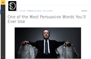 http://strategydefined.com/most-persuasive-word/