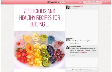 http://diet.allwomenstalk.com/delicious-and-healthy-recipes-for-juicing