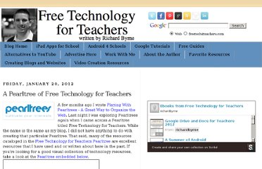 http://www.freetech4teachers.com/2012/01/pearltree-of-free-technology-for.html#.UVfBA9GI70M