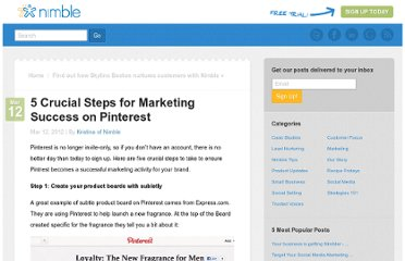 http://www.nimble.com/blog/5-crucial-steps-for-marketing-success-on-pinterest/