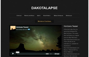http://dakotalapse.com/category/motion-control/