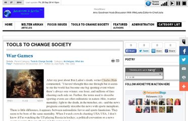 http://www.archetypeinaction.com/index.php/tools-to-change-society/81-archetypes-what-are-they/524-war-games#.UVfSEdGI70M