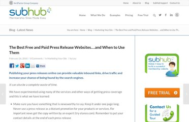 http://www.subhub.com/2010/02/the-best-free-and-paid-press-release-websites-and-when-to-use-them/