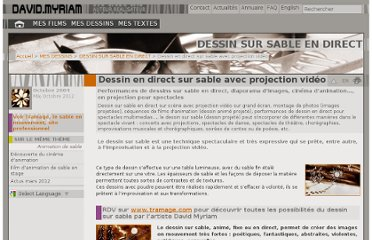 http://art-engage.net/Dessin-sable-en-direct-projection-video.html