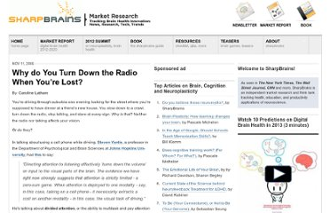 http://sharpbrains.com/blog/2006/11/11/why-do-you-turn-down-the-radio-when-youre-lost/