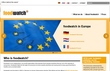 http://www.foodwatch.org/en/homepage/