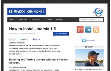 http://www.compassdesigns.net/how-to-install-joomla-15/