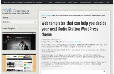 http://blog.pixelthemes.com/news/web-templates-that-can-help-you-decide-your-next-radio-station-wordpress-theme/