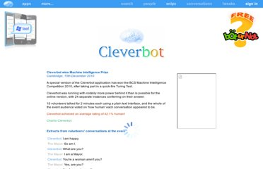 http://www.cleverbot.com/machine