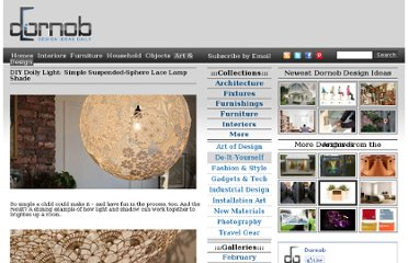 http://dornob.com/diy-doily-light-simple-suspended-sphere-lace-lamp-shade/#axzz2P40bM5yW