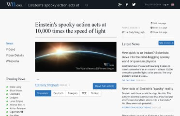 http://article.wn.com/view/2008/08/13/Einsteins_spooky_action_acts_at_10000_times_the_speed_of_lig/#/related_news