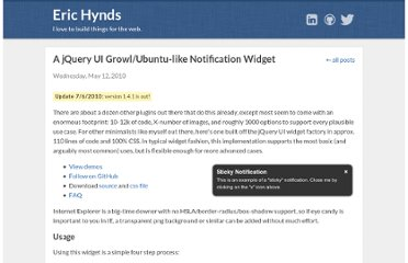 http://www.erichynds.com/blog/a-jquery-ui-growl-ubuntu-notification-widget