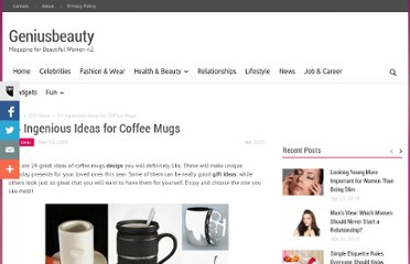 http://geniusbeauty.com/gift-ideas/24-ingenious-ideas-coffee-mugs/#.UViDadGI70M