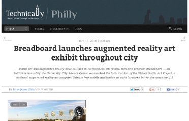 http://technical.ly/philly/2010/10/18/breadboard-launches-augmented-reality-art-exhibit-throughout-city/