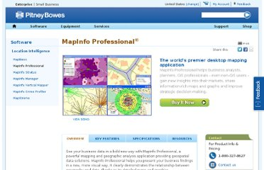 http://www.pb.com/software/Location-Intelligence/MapInfo-Suite/MapInfo-Professional.shtml