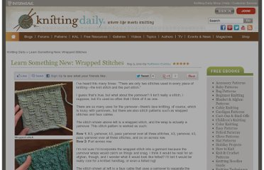 http://www.knittingdaily.com/blogs/daily/archive/2011/09/05/learn-something-new-wrapped-stitches.aspx#video