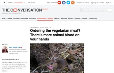 http://theconversation.com/ordering-the-vegetarian-meal-theres-more-animal-blood-on-your-hands-4659