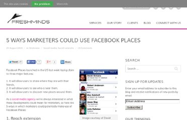 http://www.freshnetworks.com/blog/2010/08/5-ways-facebook-places-for-marketers/