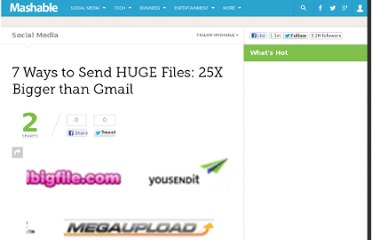 http://mashable.com/2007/05/23/7-ways-to-send-huge-files-25x-bigger-than-gmail/