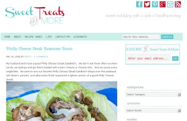 http://sweettreatsmore.com/2012/05/philly-cheese-steak-romaine-boats/